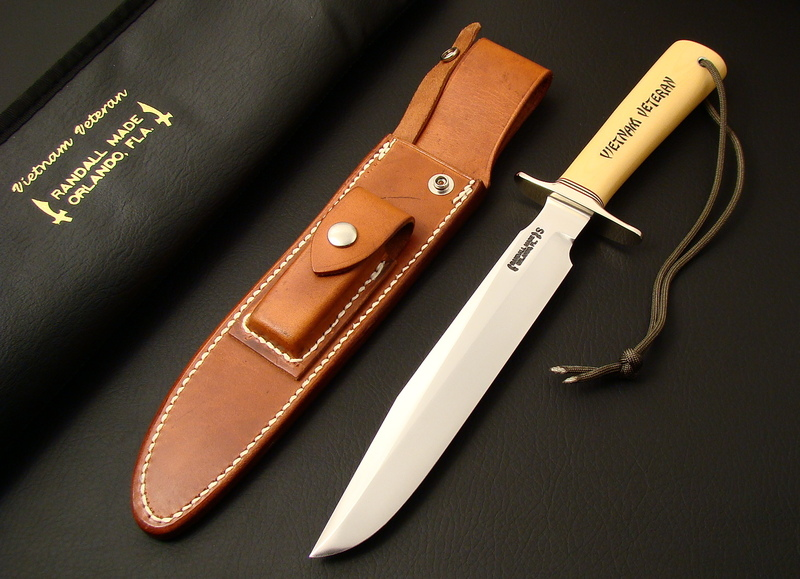 "WANTED TO BUY - Randall Knife Model # 1 - 8"", Vietnam Veteran - ANY SERIAL # $ 3500.00 PAID ! CALL 815-236-7323"