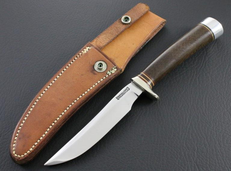 model 7 brown micarta pic 1